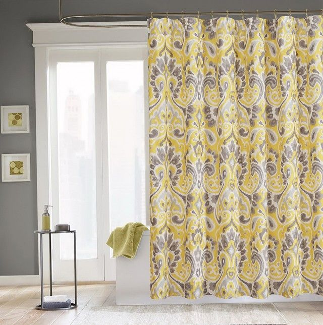 Mustard Yellow Curtain Panels Home Design Ideas And Grey ...