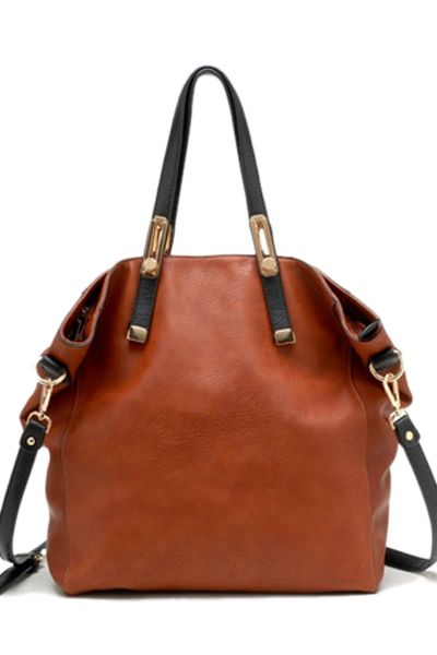 Brown #tote #handbag
