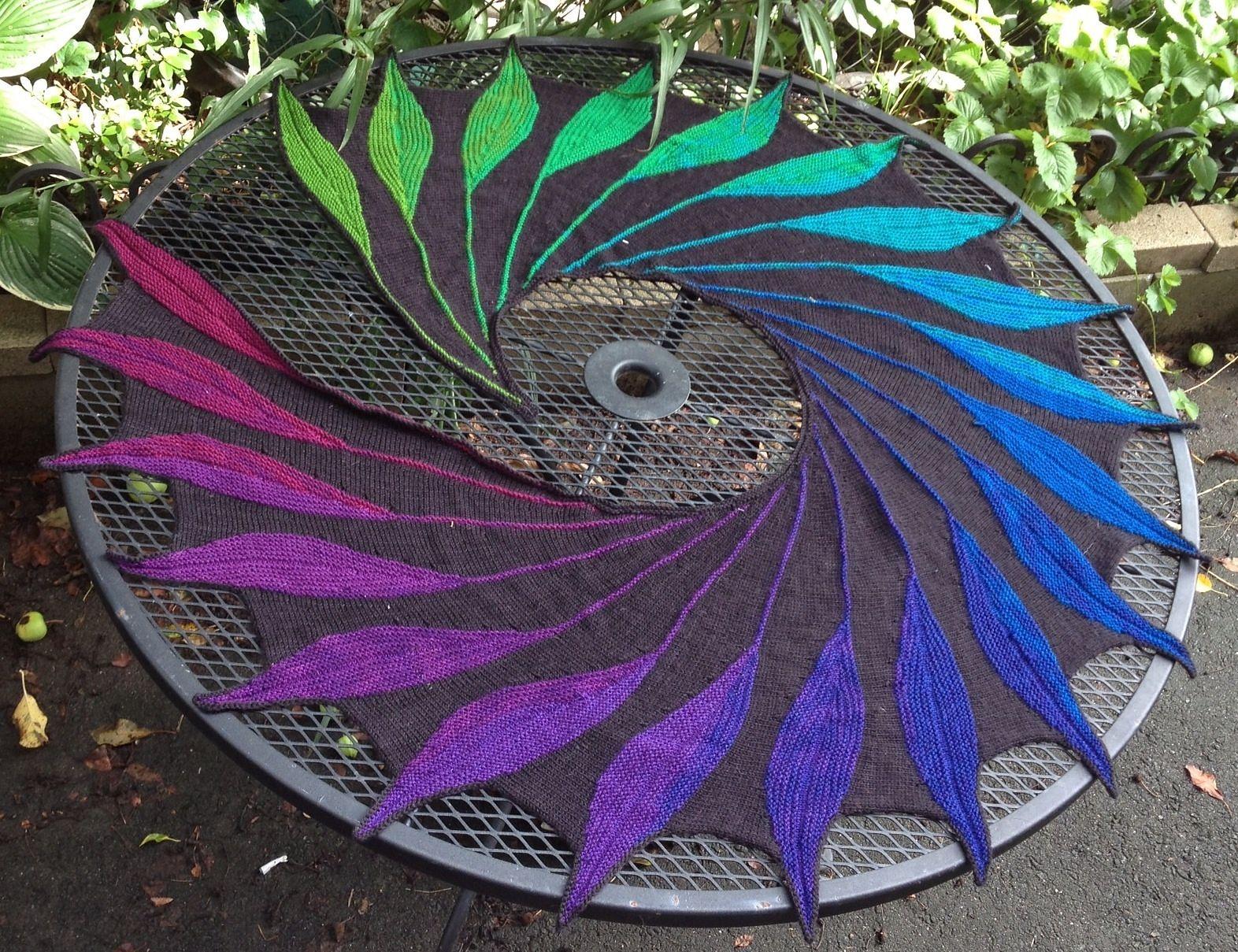 Dreambird KAL pattern by Nadita Swings | Pinterest | Chal, Tejidos ...