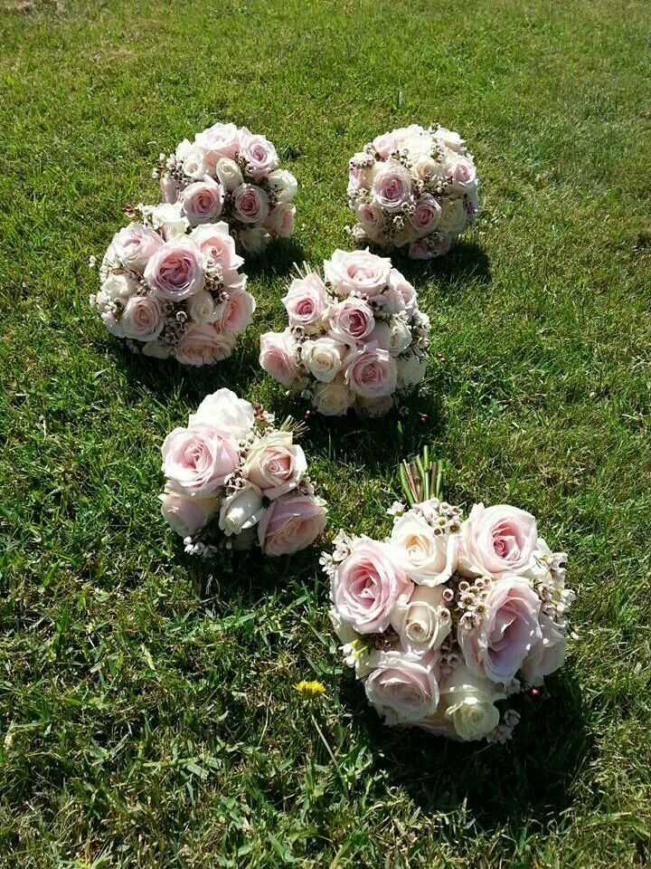 Pale pink wedding