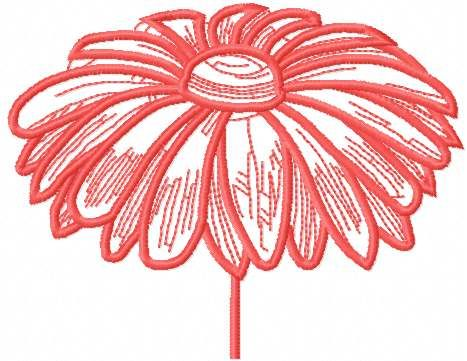 Pink Flower Free Embroidery Design 6 Machine Embroidery Design Www