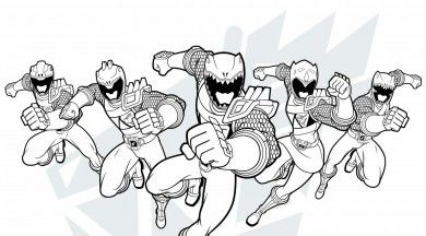 Free Printable Power Rangers Activities For Kids. Download Coloring Pages,  Wallpapers, Power Rangers