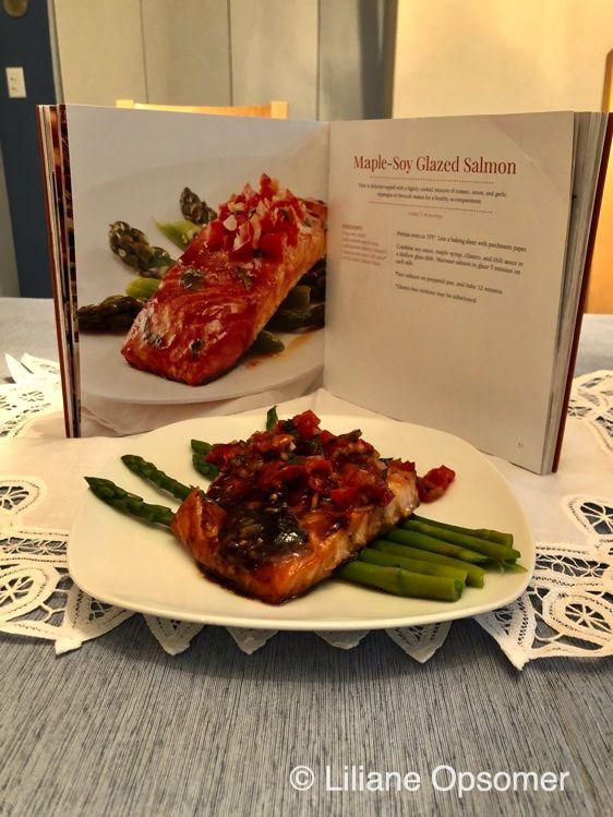 Maple-Soy Glazed Salmon Recipe - Adventure Publications