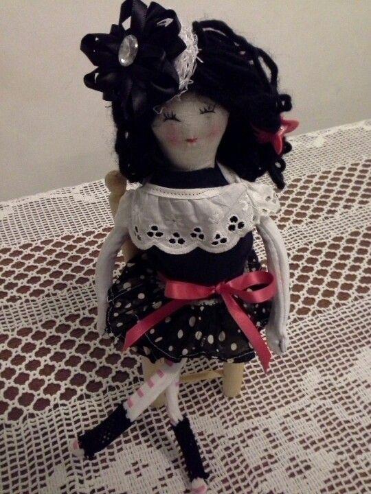 Spanish lady made by anskeersmaekers@