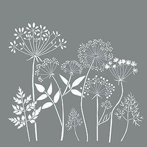 18 X Americana Decor Stencils Wildflowers Reusable Stencil