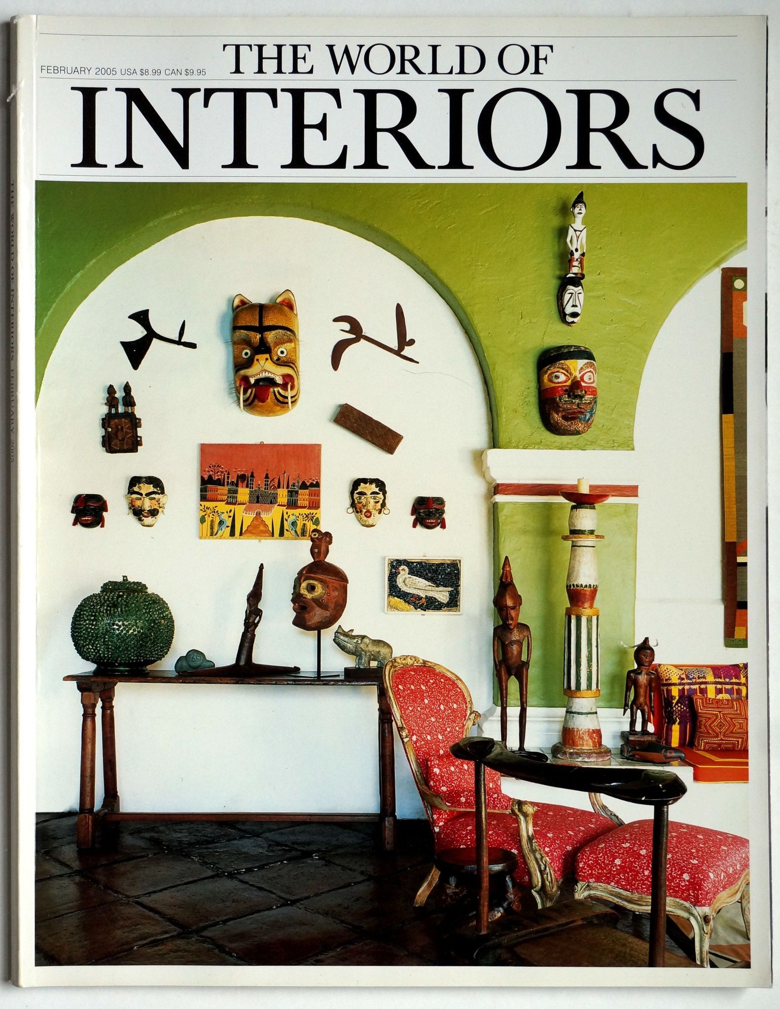 The World of Interiors February 2005
