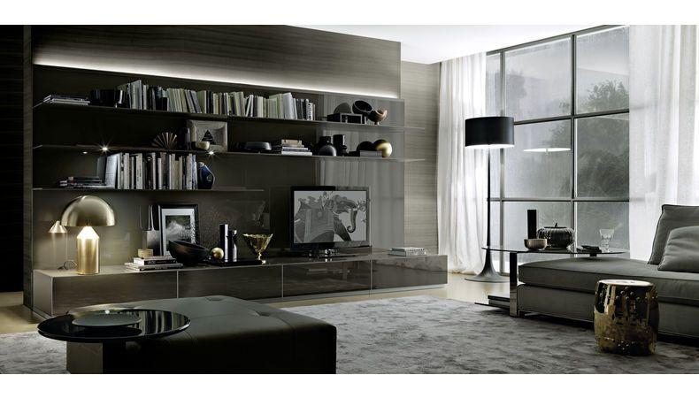 rimadesio designer furniture abacus wall unit rimadesio contemporary wall system haute. Black Bedroom Furniture Sets. Home Design Ideas