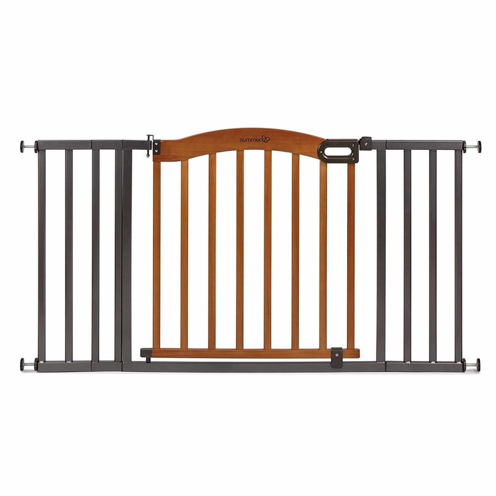 Safety Gates Baby Proofing Decorative Wood Metal 5ft ...