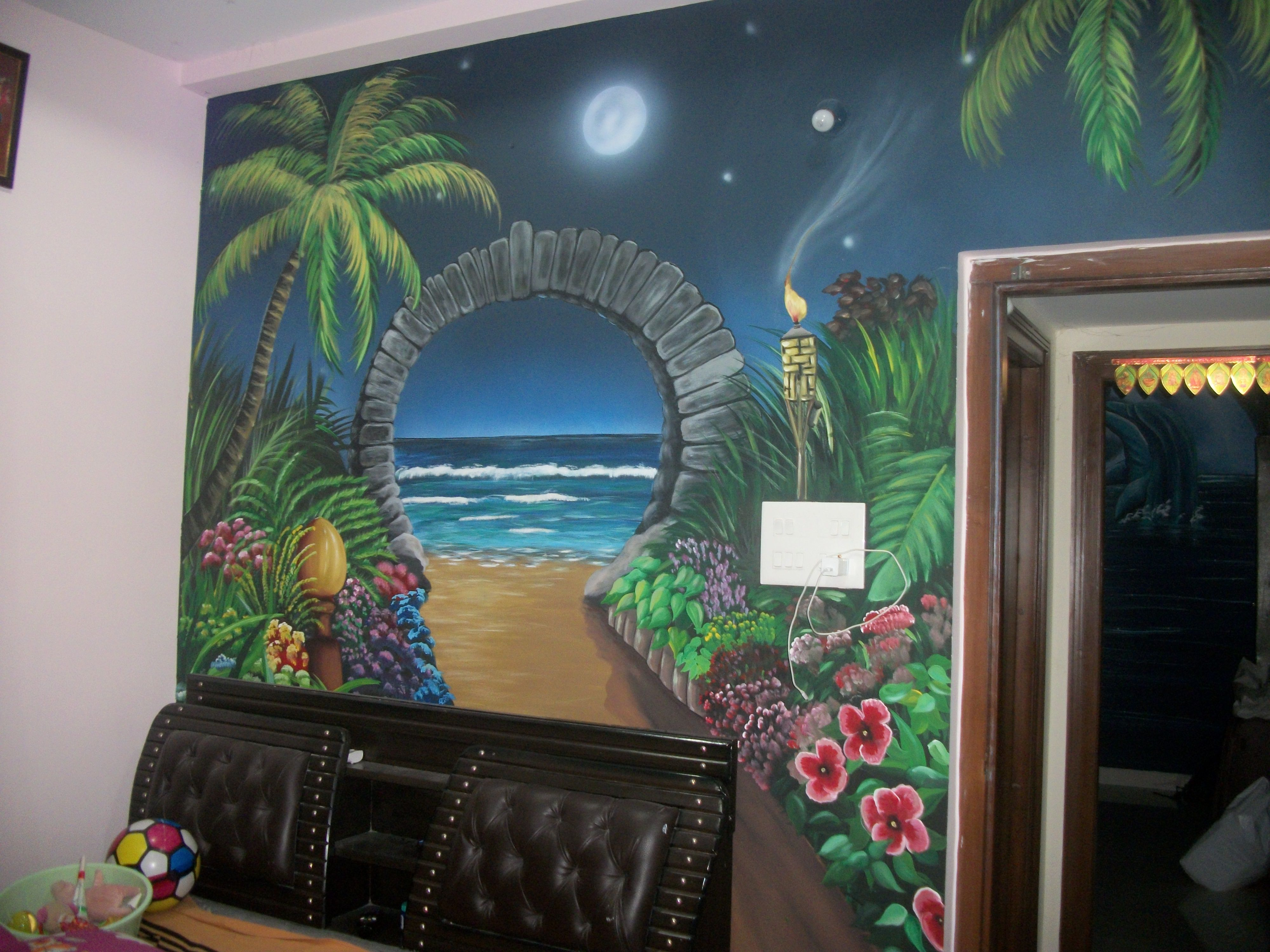 Wall Art Design In Hyderabad 3d Wall Painting Wall Art Designs