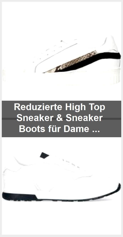 Reduzierte High Top Sneaker & Sneaker Boots für Damen