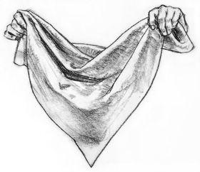 how to draw fabric folds tutorial