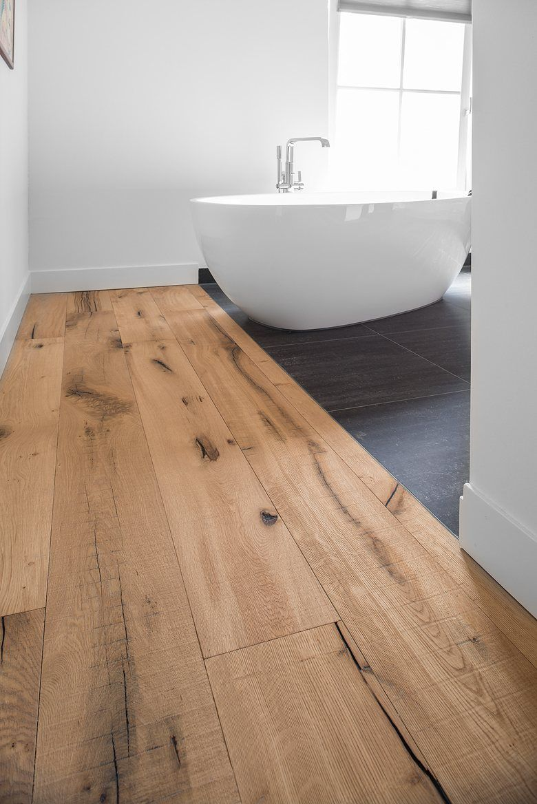 Old Farmhouse Reshaped With Reclaimed Engineered Oak Flooring Enschede 2016 Dennebos Floo Engineered Wood Floors Engineered Oak Flooring Farmhouse Flooring