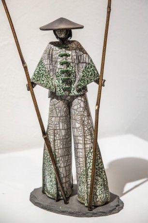 Romuald DANIEL ‹ Galerie Rikia Ferrer   modelage en 2018   Poterie ... 12016253d89