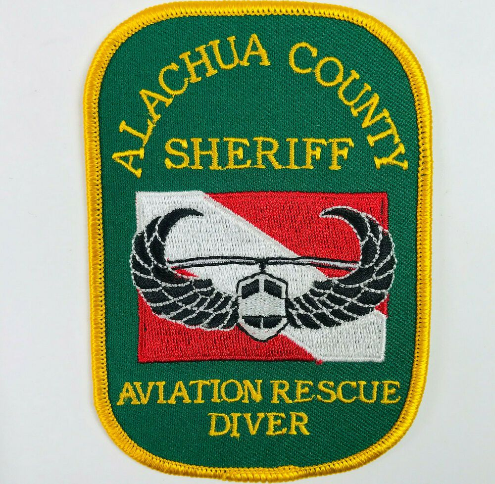 Alachua County Sheriff Aviation Rescue Diver Florida Patch