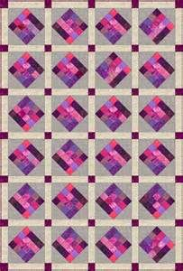 Coffin Star Quilt and Quilt Block Pattern