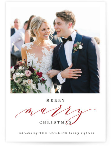 Merry Marry Holiday Photo Cards Holiday Photos Photo Cards