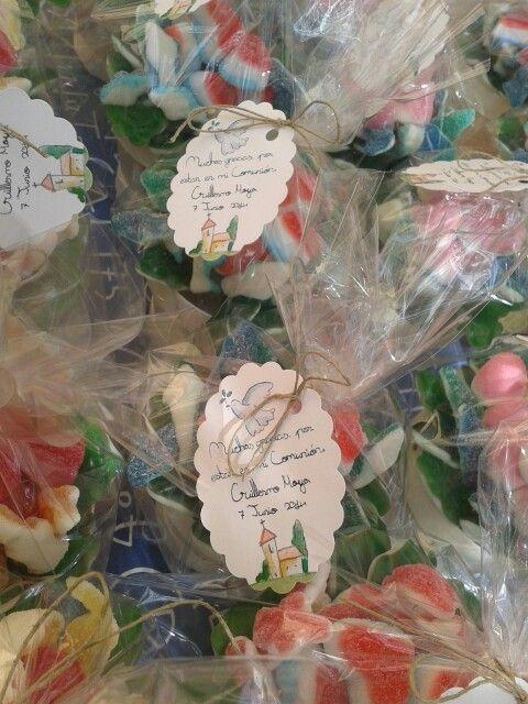 Detalles para regalar, P&P catering de golosinas