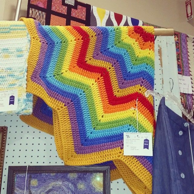 Crochet Inspiration: Ripple Star Blankets (27 Patterns and Photos ...