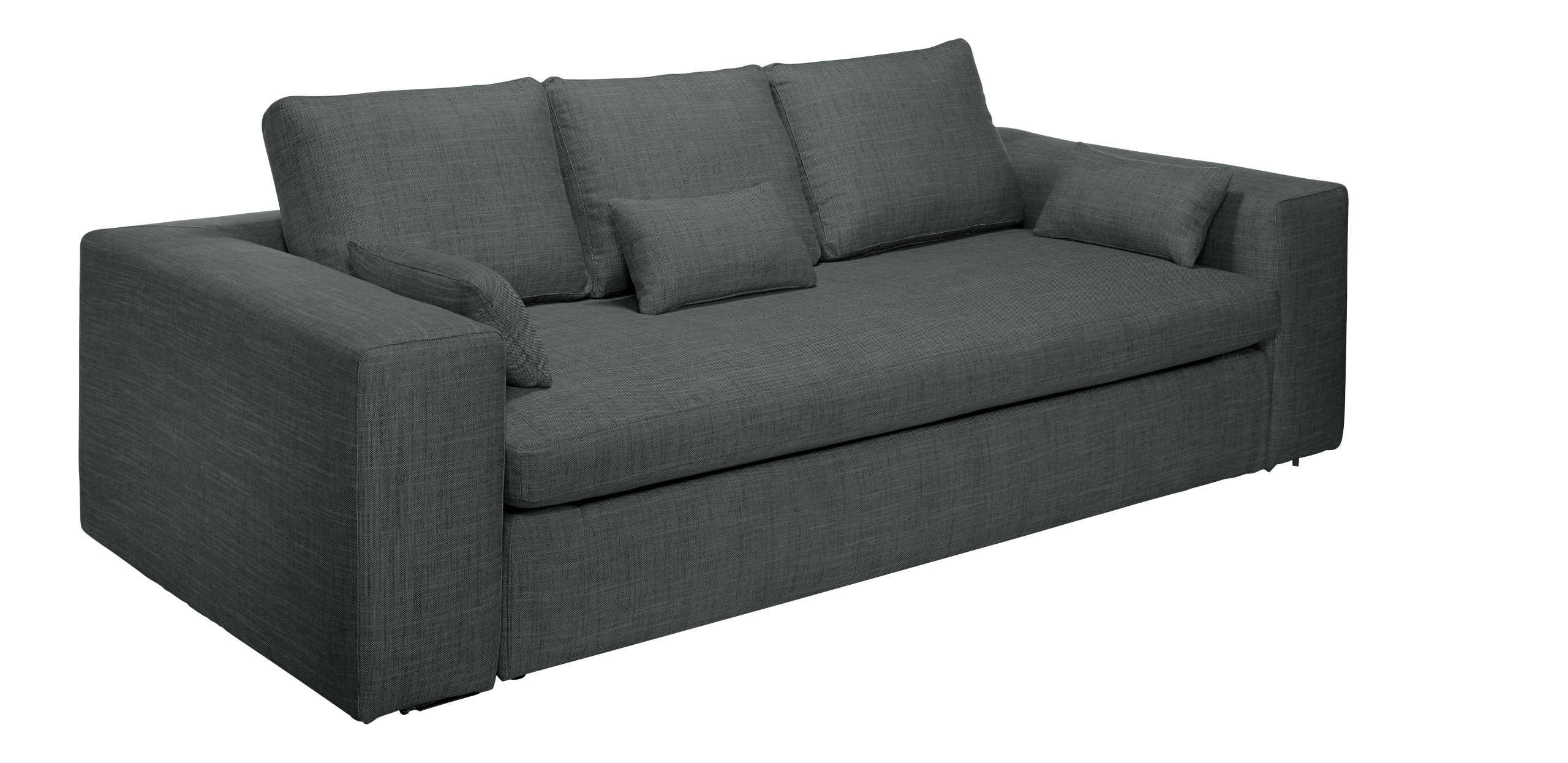 Canape 3 Place Convertible Cyrus Canapé Lit 3 Places En Tissu Deco Sofa Couch Furniture