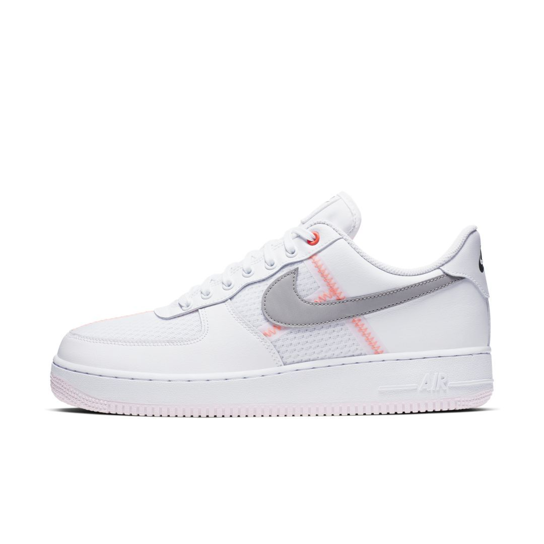 Nike Air Force 1 '07 LV8 Men's Shoe (White) in 2019
