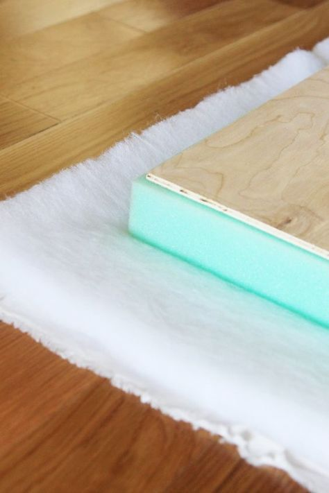 Attach Cushion To Bench Using Industrial Velcro So It Doesn T Slide Diy Window Seat Diy Nook Diy Bench Cushion