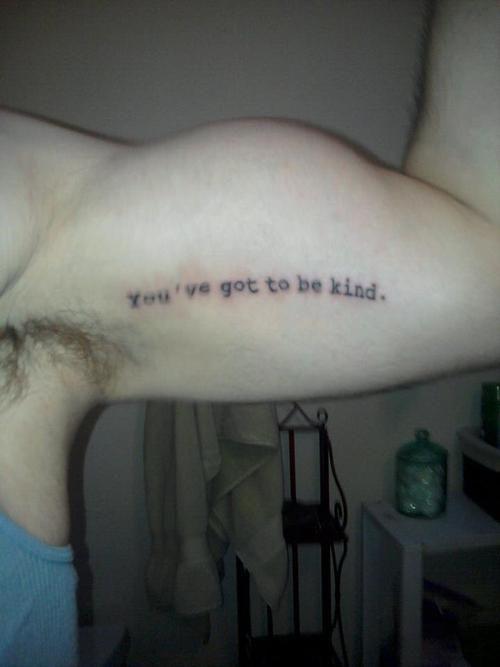 Awesome Tattoo From Kurt Vonneguts God Bless You Mr