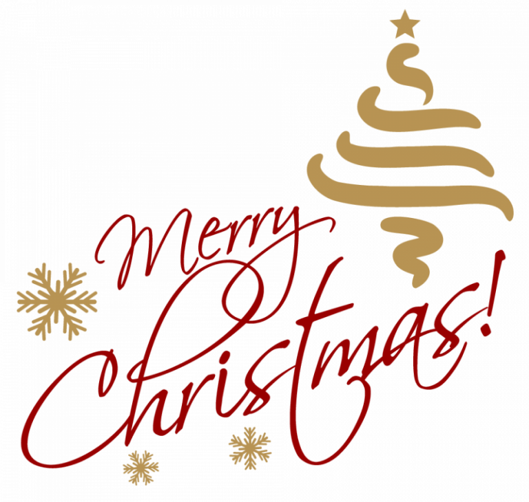 merry Christmas text png download 2018 Merry christmas