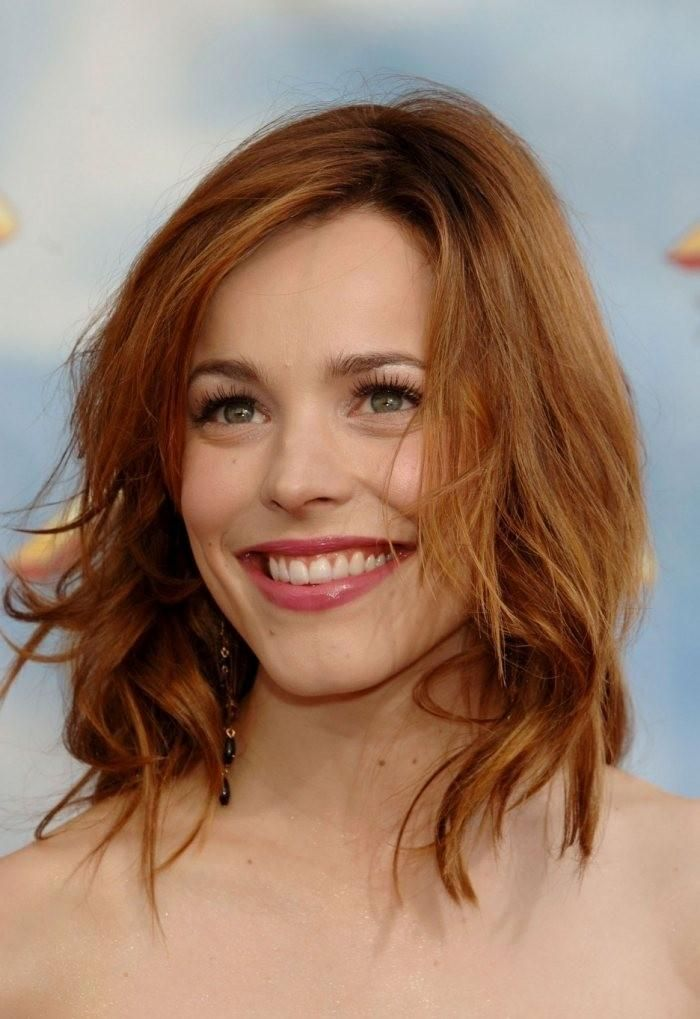 Stars With Red Hair 32 Ideas For Shades Of Red And Hairstyles Brown Hair Dye Rachel Mcadams Hair Red Hair