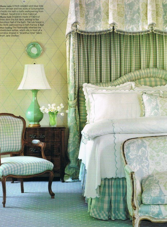 Jane Wilner Bedding As Seen In Traditional Homes Magazine