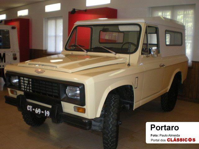 Portuguese Classic 4x4 Portaro Carros