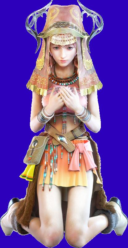 Oerba Dia Vanille Final Fantasy Girls Final Fantasy Final Fantasy Characters