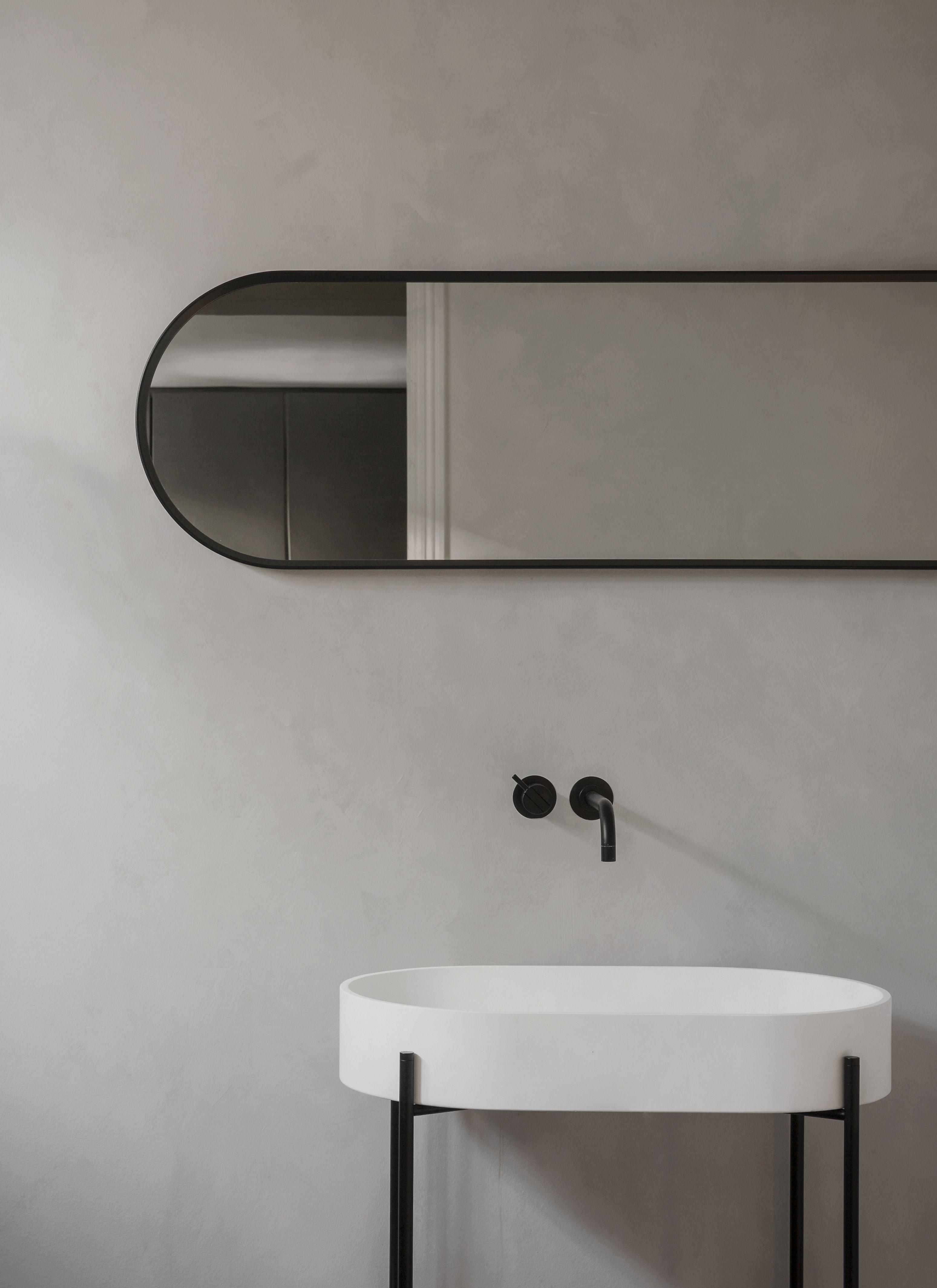 Norm Oval Mirror Menu Ss18 Badezimmer Innenausstattung