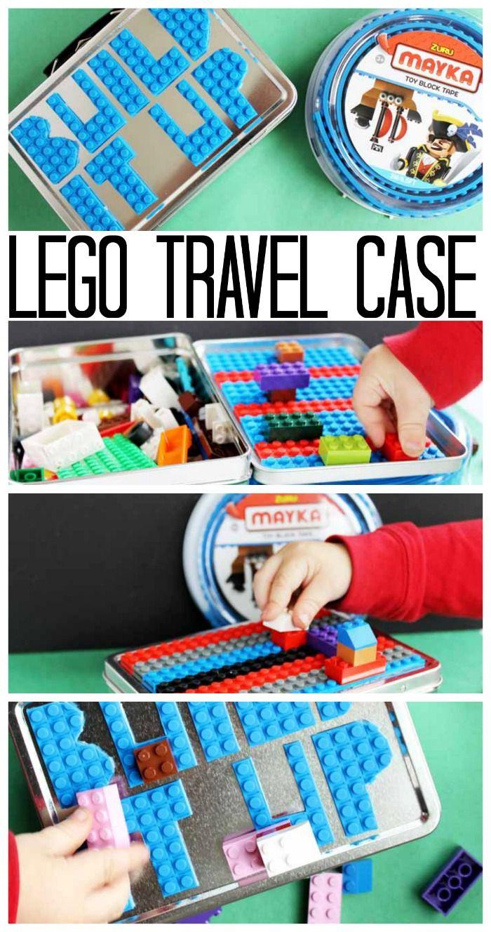 Lego Travel Case An Easy Gift Idea To Make Brilliant