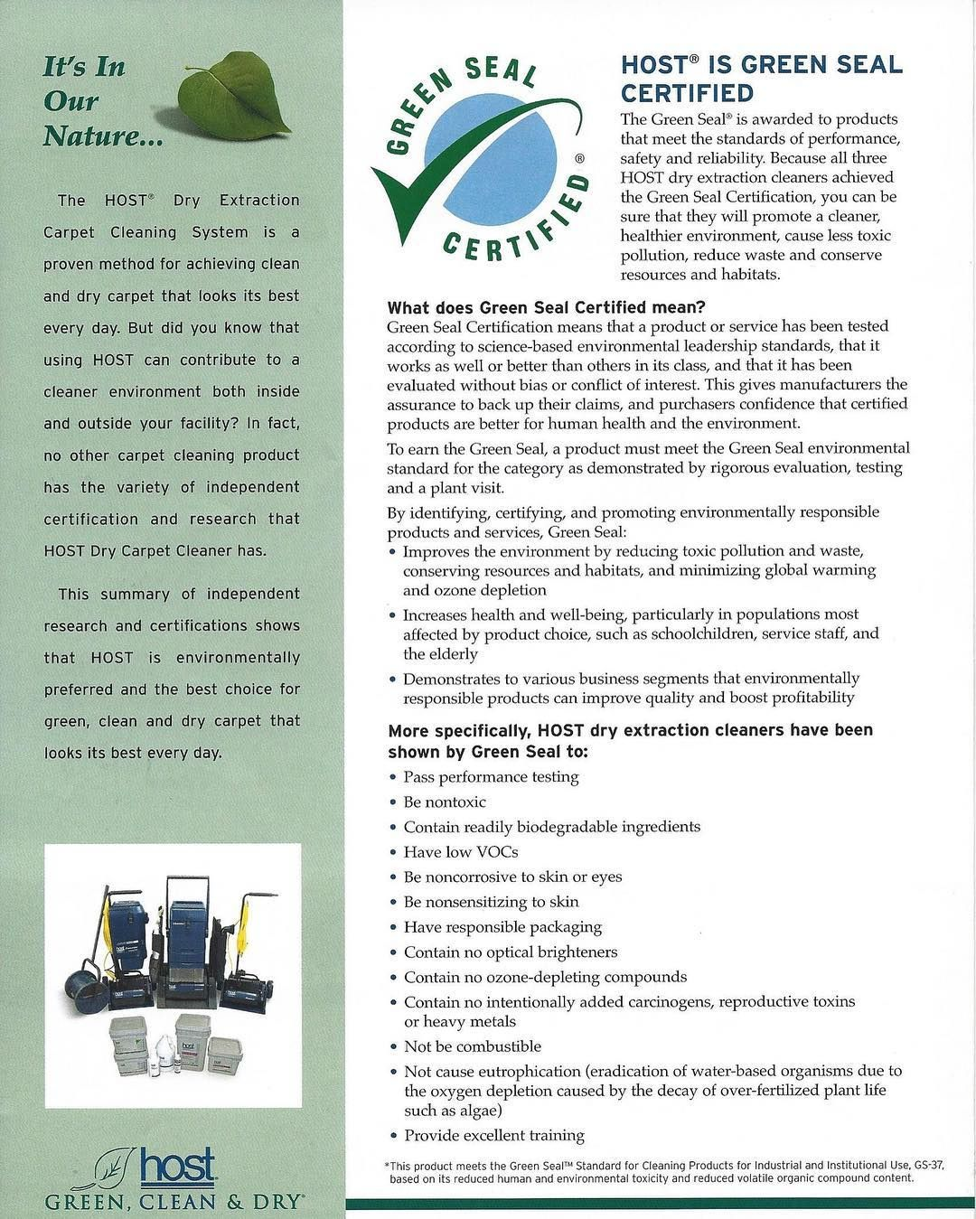 Learn All About Our Eco Friendly And Green Carpet Cleaning Methods