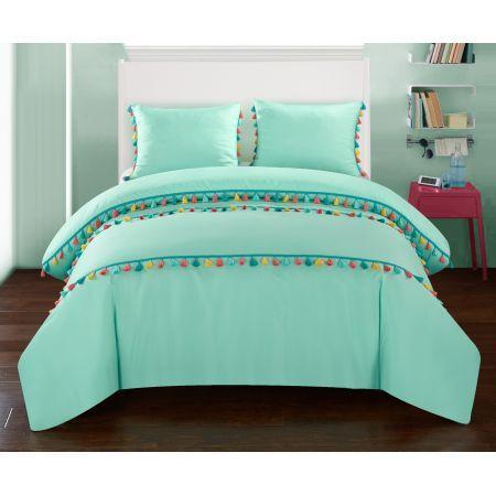 Better Homes and Gardens Kids Cassie Aqua Comforter Set | Garden ...