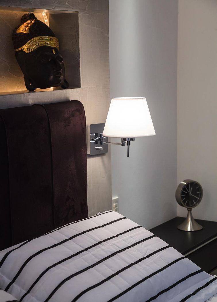 78 Ideias para decorar quartos pequenos   Arandelas   Pinterest