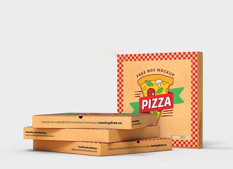 Download Free Pizza Box Mockup Psd Box Mockup Mockup Psd Mockup