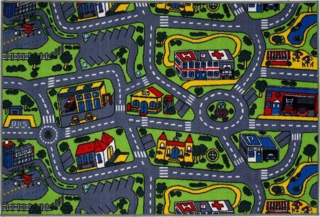 fun city rug | 90s princess | pinterest