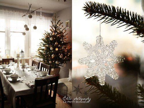 delicados adornos navideños Navidad Pinterest - objetos navideos