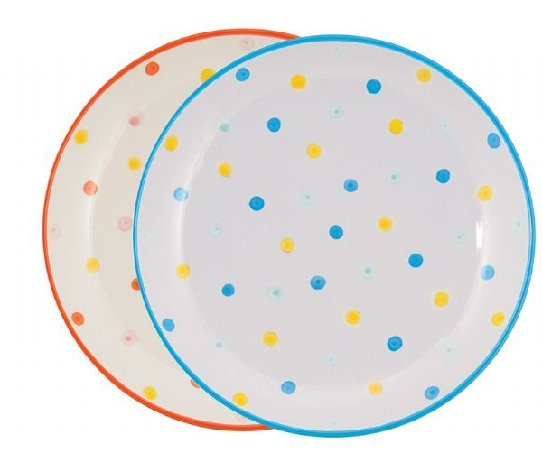 Tableware GE Dotty Side Plate asst