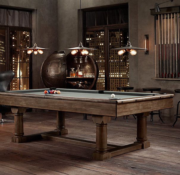Brunswick Exclusive Tournament Billiards Table | Bars for