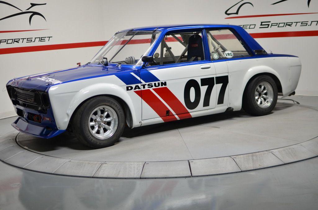 BMW slayer Datsun 510 in BRE team colors Datsun