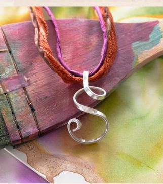 Sterling silver S,