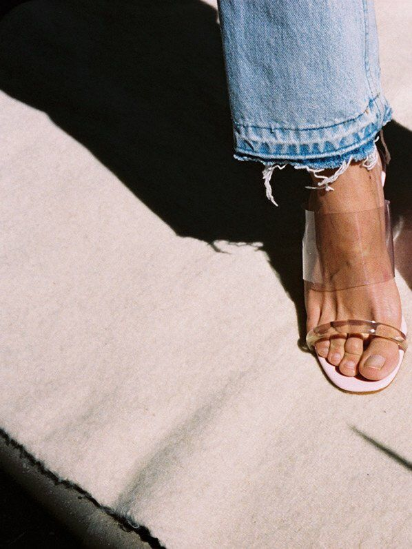 b2d2a63bbe384 clear mule | THE LOOK in 2019 | Fashion, Shoes, Me too shoes