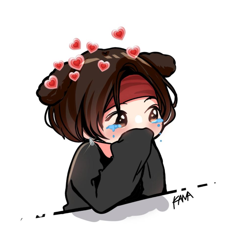 카나kana On Twitter Jungkook Fanart Bts Drawings Bts Chibi
