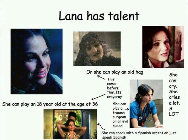 lana has talent