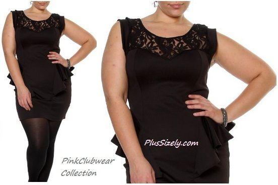 Size Black Club Dresses