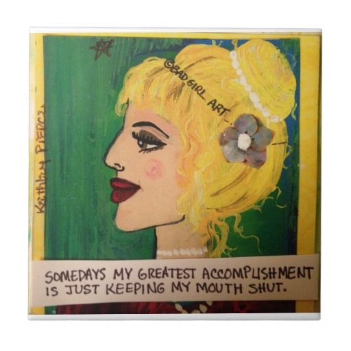 Funny Decorative Ceramic Tiles | Zazzle