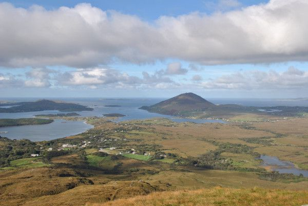 I #uge41_2013 besteg vi Diamond Hill, Connemara National Park, Irland. Hvilken vidunderlig panoramaudsigt!