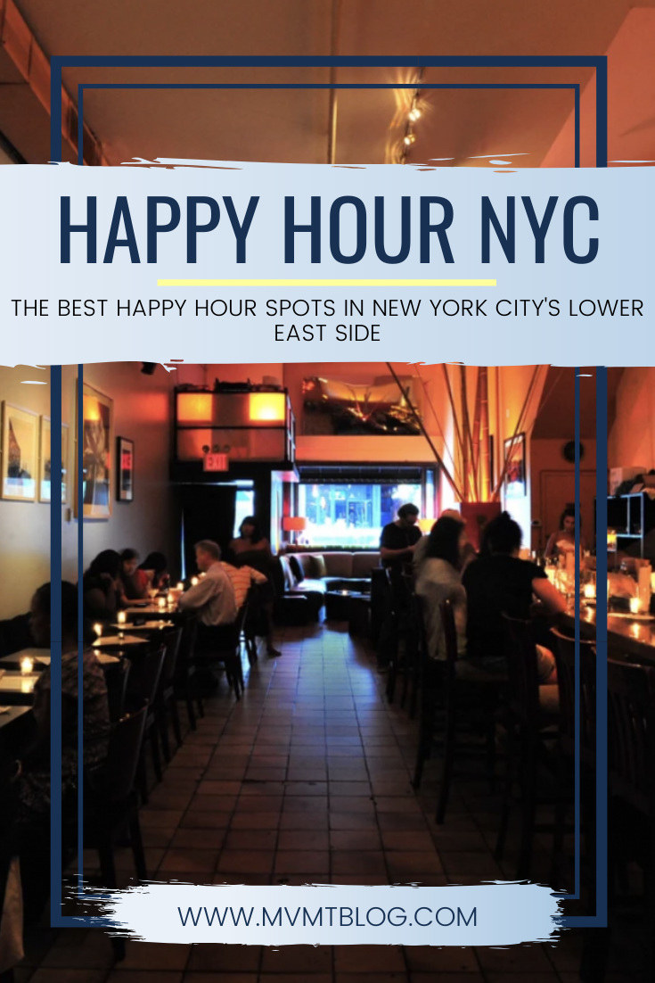 Best Happy Hour Spots In Nyc S Lower East Side Best Happy Hour